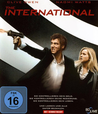 DVD The International  (Blu-ray) online leihen