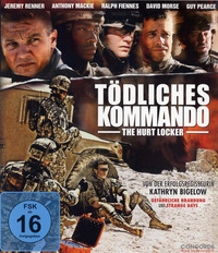 DVD Tödliches Kommando - The Hurt Locker  (Blu-ray) online leihen
