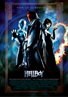 Kinoposter Herbst 2004: 'Hellboy' © Sony Pictures