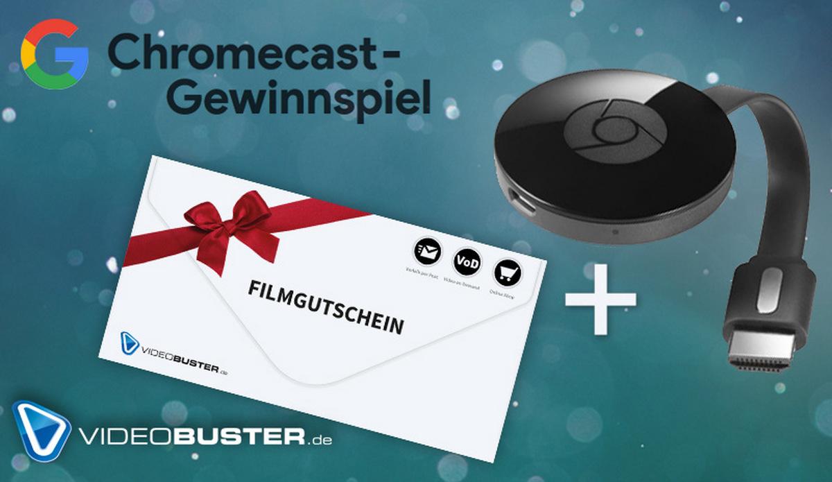 Chromecast-Gewinnspiel: Happy New Gifts! Lasst euch beschenken!