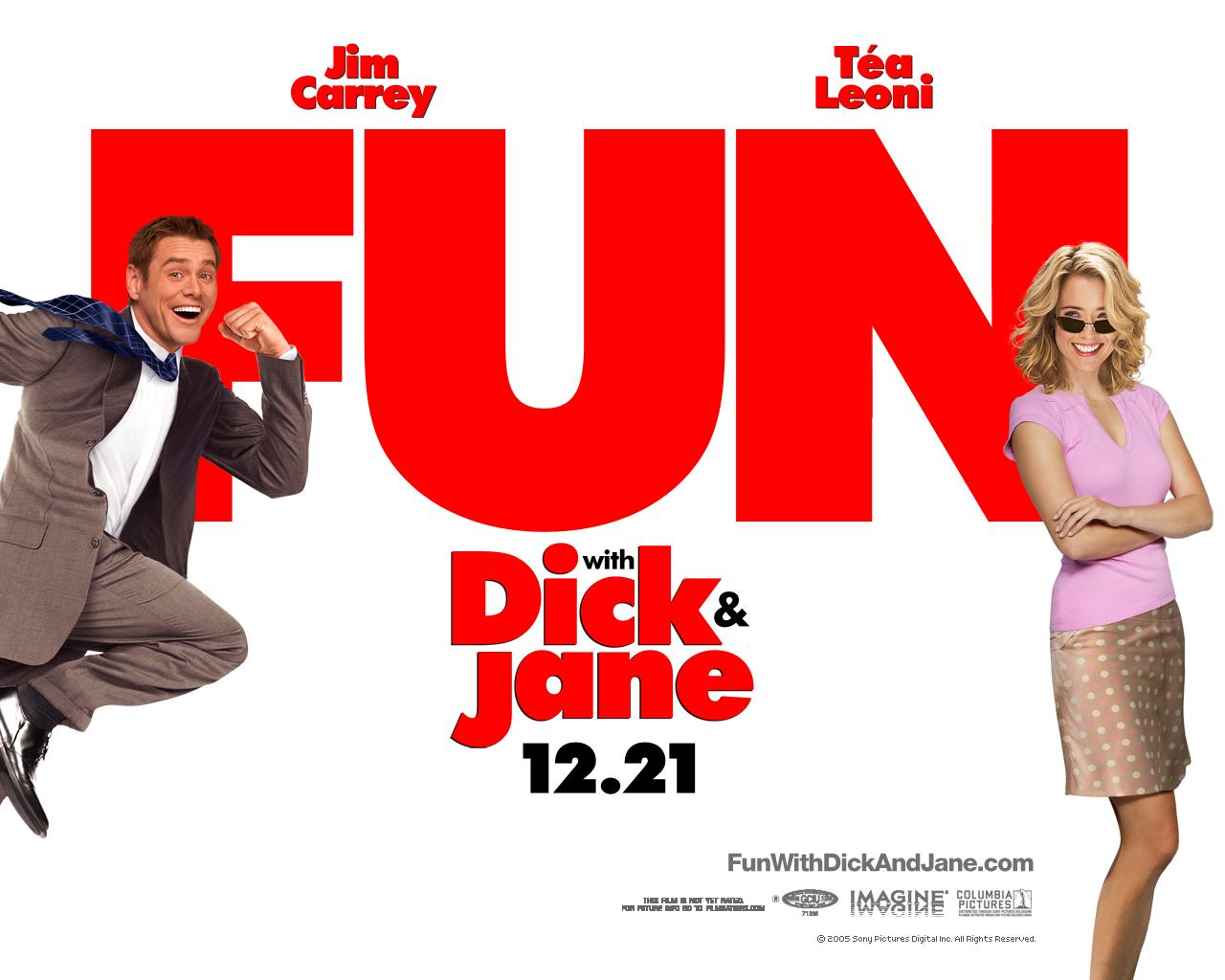 Dick und Jane Geburtstagseinladung