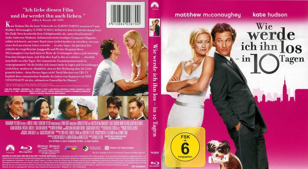 welche resonanz hat der film wie werde ich ihn los in 10 tagen 1 dvd von h bewertungen. Black Bedroom Furniture Sets. Home Design Ideas