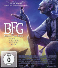 Titelbild: BFG - Sophie und der Riese