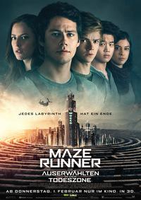 Titelbild: Maze Runner 3 - Die Auserwählten in der Todeszone