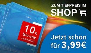 Blu-ray & DVD Leerh�llen - Jetzt im Shop kaufen!