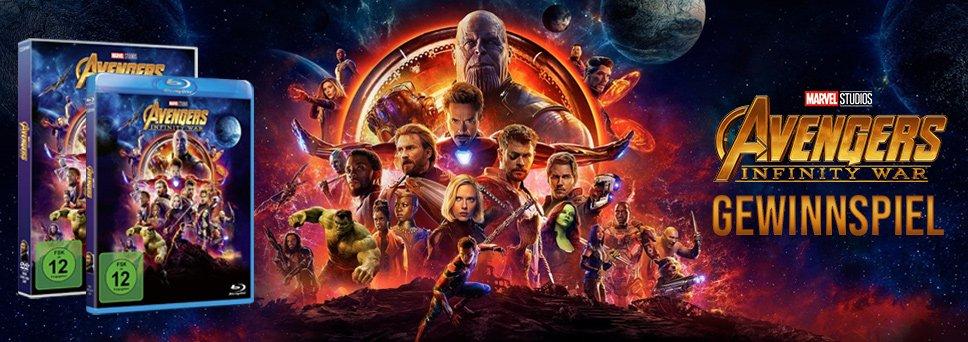 Avengers - Infinity War Gewinnspiel