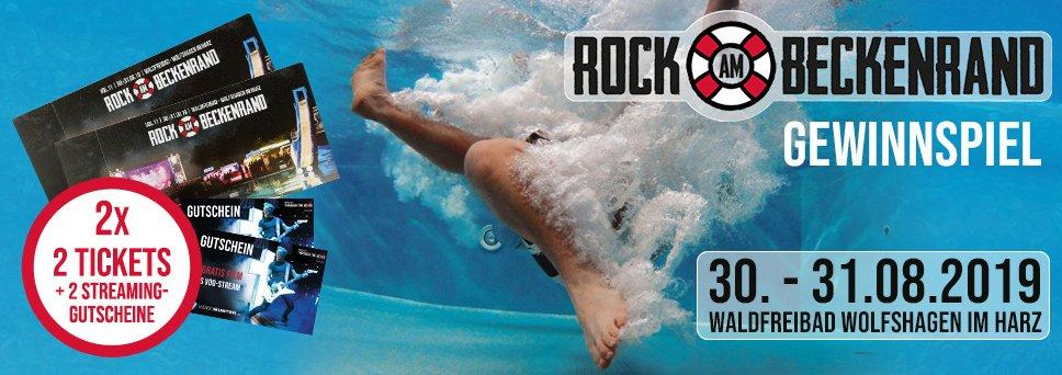 Rock am Beckenrand Gewinnspiel