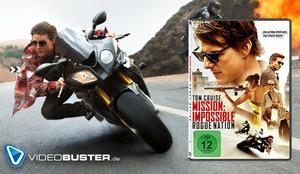Ist der 60.000. Titel im Verleih: 'Mission Impossible 5 - Rogue Nation' © Paramount Pictures