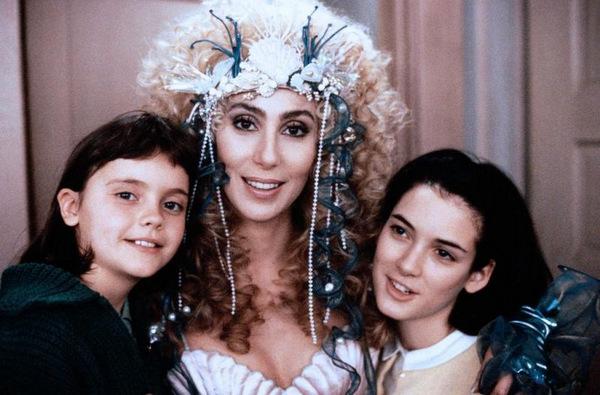 Christina Ricci, Cher und Winona Ryder in 'Meerjungfrauen küssen besser' © MGM 1990