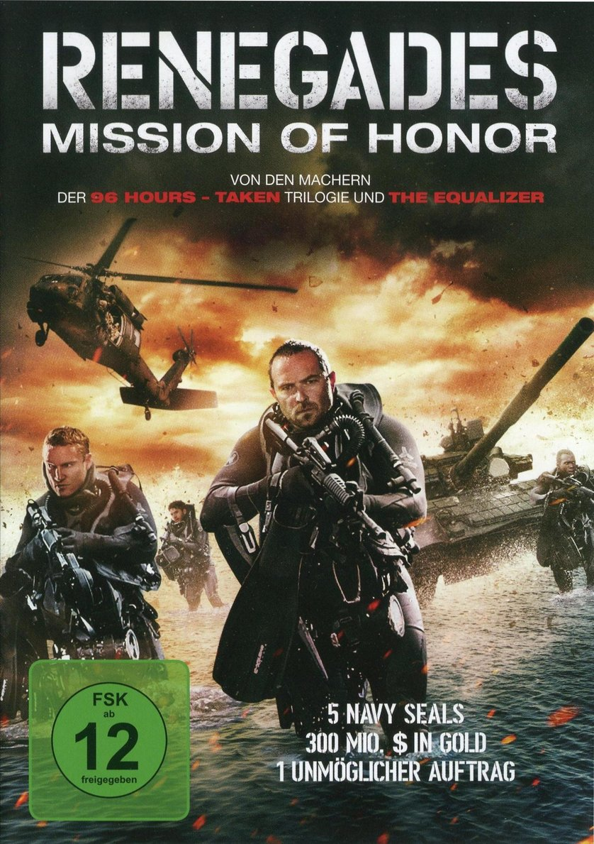 Renegades Mission Of Honor