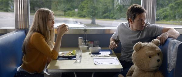 Amanda Seyfried und Mark Wahlberg in 'Ted 2'