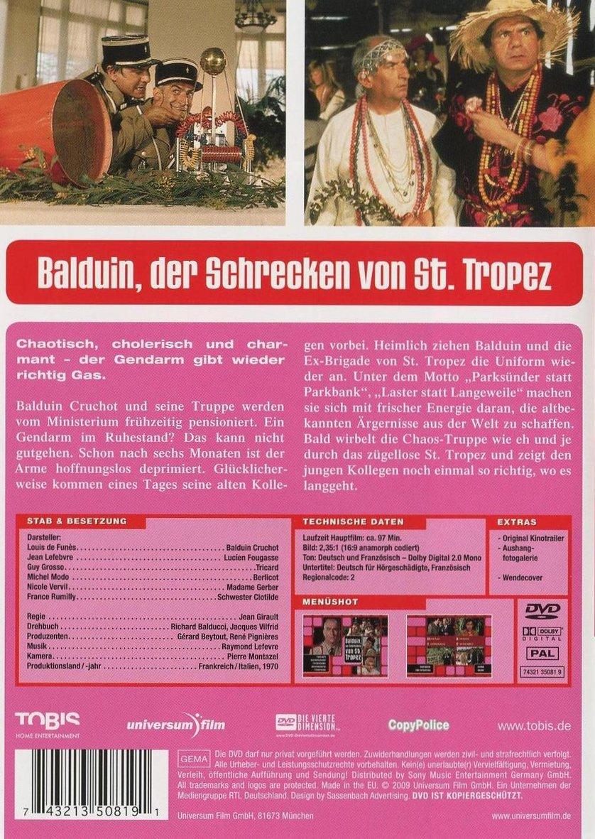 Balduin, Der Schrecken Von Saint-Tropez