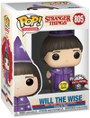 Stranger Things Will The Wise (Glow In The Dark) Vinyl Figur 805 powered by EMP (Funko Pop!)
