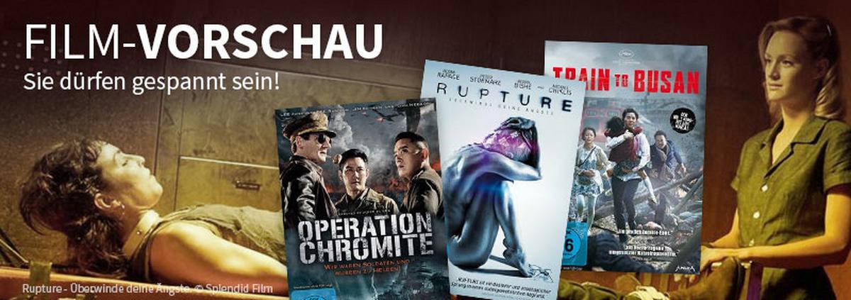 Vorschau-Filme: Film-Vorschau: Darauf dürfen Sie sich freuen