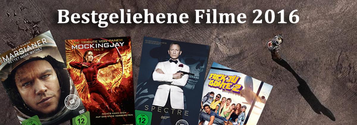 Die besten Filme 2016: Die Verleih Hits 2016: Ihre persönliche Top 10