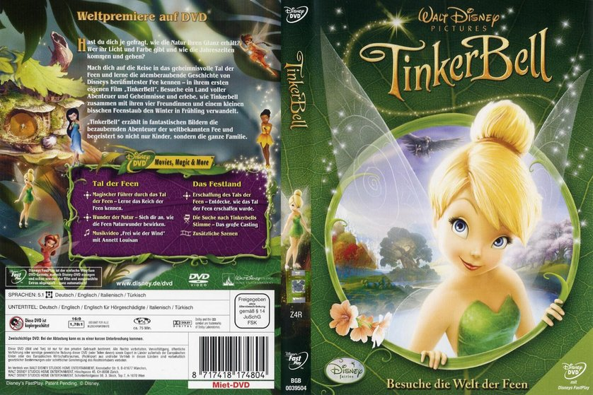 TinkerBell DVD Oder Blu Ray Leihen VIDEOBUSTERde