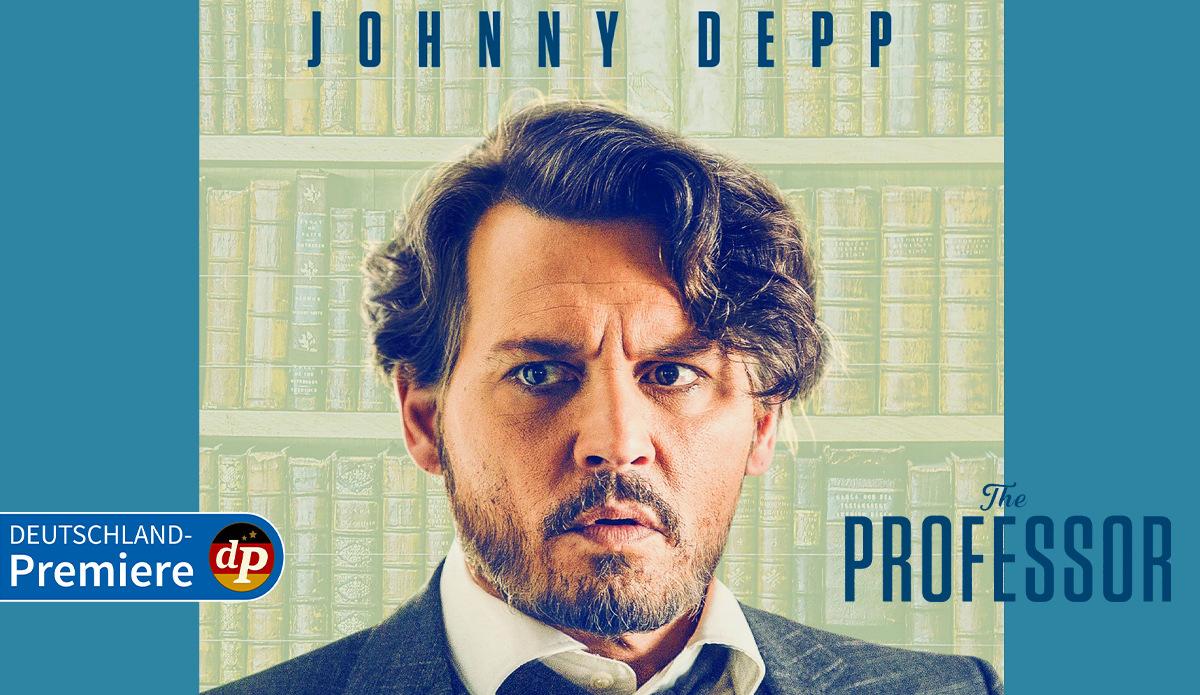 The Professor: Freut euch auf Johnny Depp in einer Deutschland-Premiere