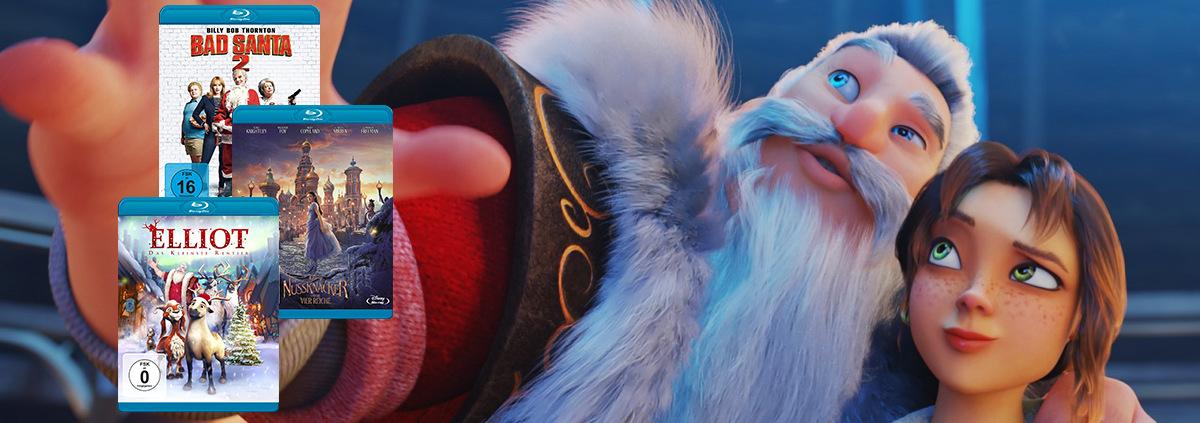 Die besten Weihnachtsfilme: Auf DVD & Blu-ray: Und jährlich grüßt der Weihnachtsmann!
