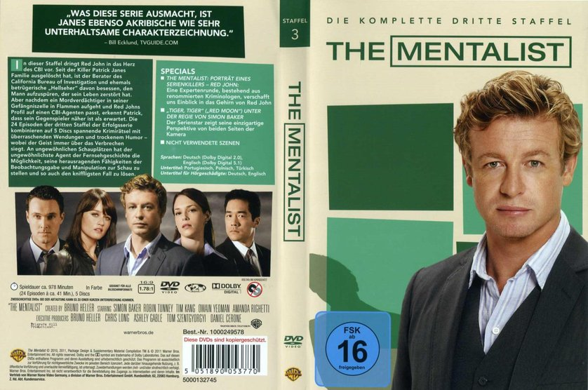 The Mentalist Staffel 3 Stream