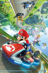 Super Mario Mario Kart 8 (Flip Poster) powered by EMP (Poster)
