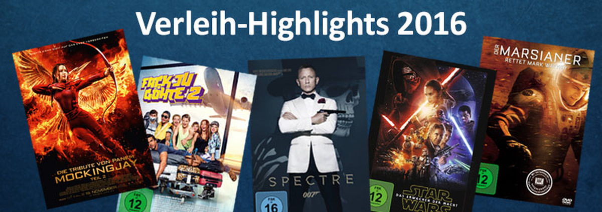 Heimkino-Highlights 2016: Die gefragtesten Heimkino-Highlights 2016!