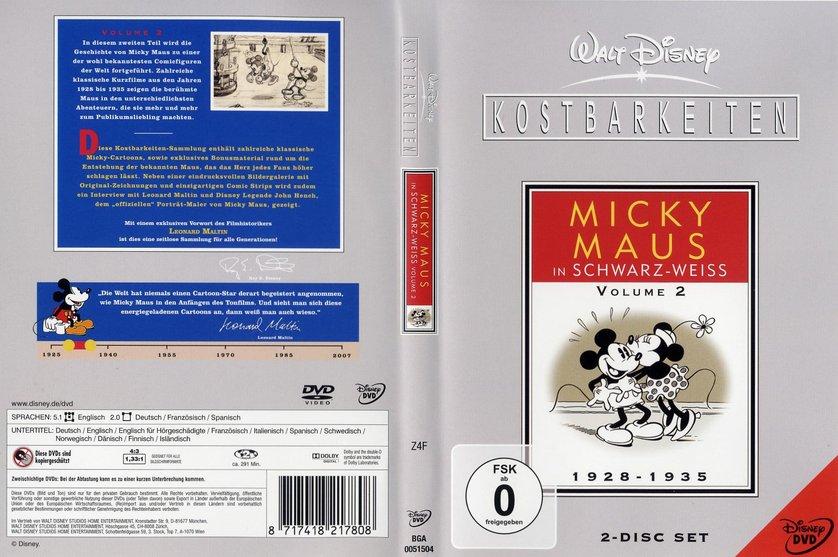 Walt Disney Kostbarkeiten - Micky Maus in Schwarz-Weiß: DVD oder Blu ...