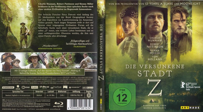 die versunkene stadt z stream movie4k