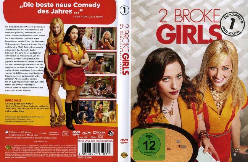 2 broke girls staffel 1