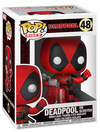 Deadpool Deadpool on Scooter Vinyl Figur 48 powered by EMP (Funko Pop!)