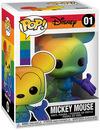 Micky Maus Pride 2020 - Mickey Mouse (Rainbow) Vinyl Figur 01 powered by EMP (Funko Pop!)