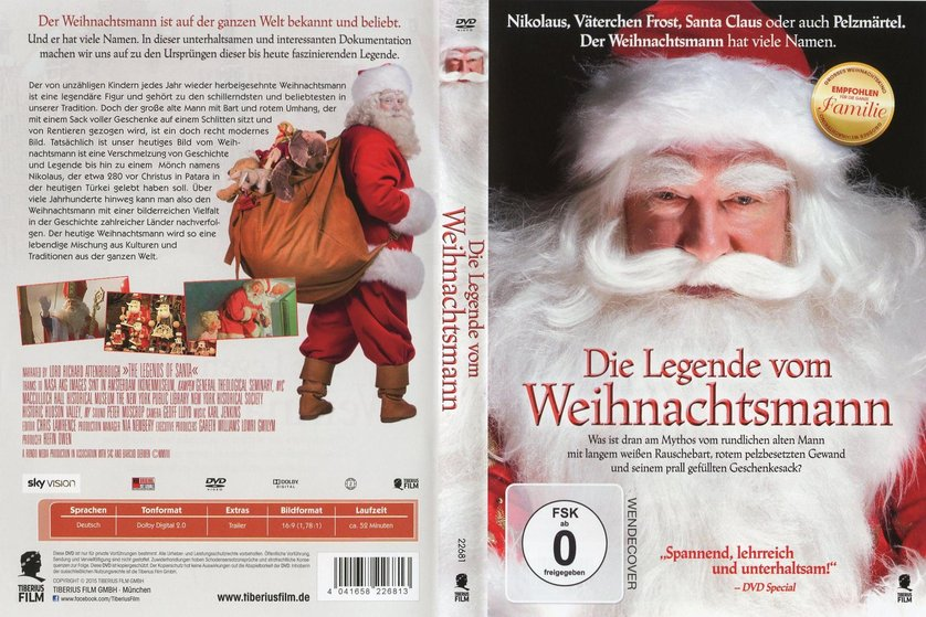 die legende vom weihnachtsmann dvd oder blu ray leihen. Black Bedroom Furniture Sets. Home Design Ideas