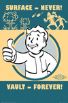 Fallout 4 - Vault Forever powered by EMP (Poster)