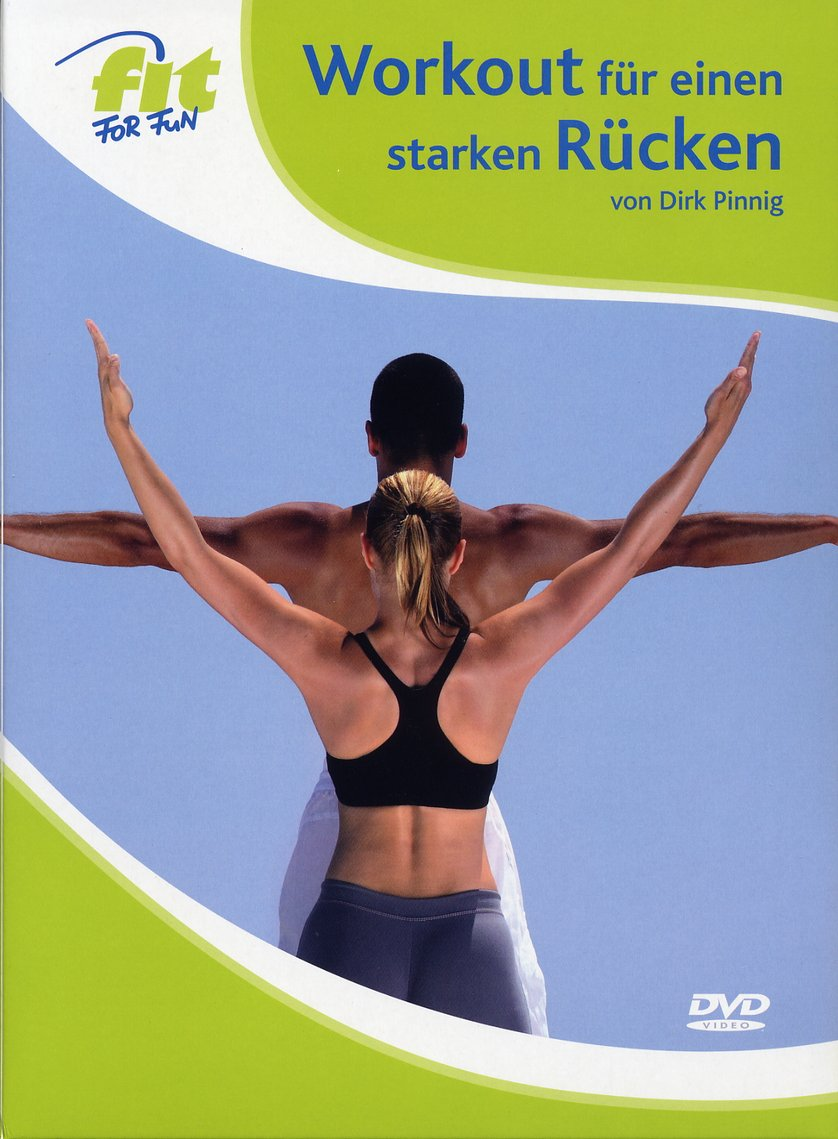 various colors 2954d b51ff Fit for Fun - Workout für einen starken Rücken: DVD oder Blu ...