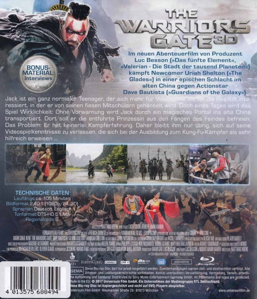 warriors gate stream deutsch