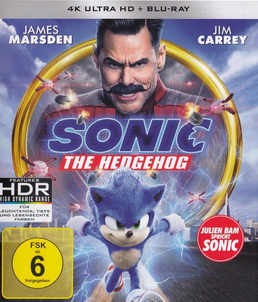 Sonic the Hedgehog DVD oder Blu ray leihen   VIDEOBUSTER.de