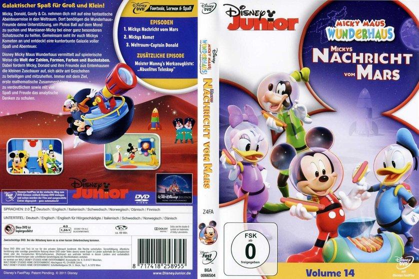 Micky Maus Wunderhaus 14  Mickys Nachricht vom Mars DVD oder Blu