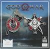 God Of War God Of War Logo Pin schwarz rot weiß powered by EMP (Pin)