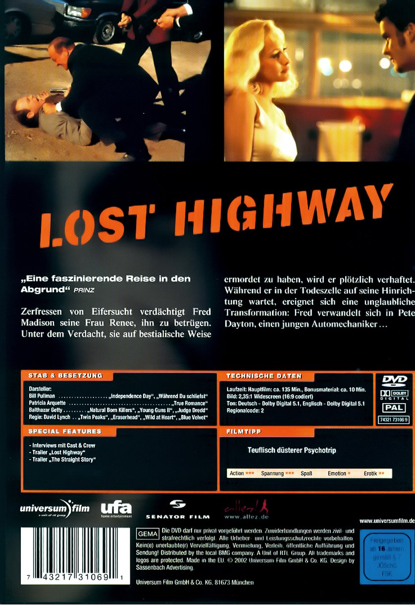 Lost Highway: DVD, Blu...