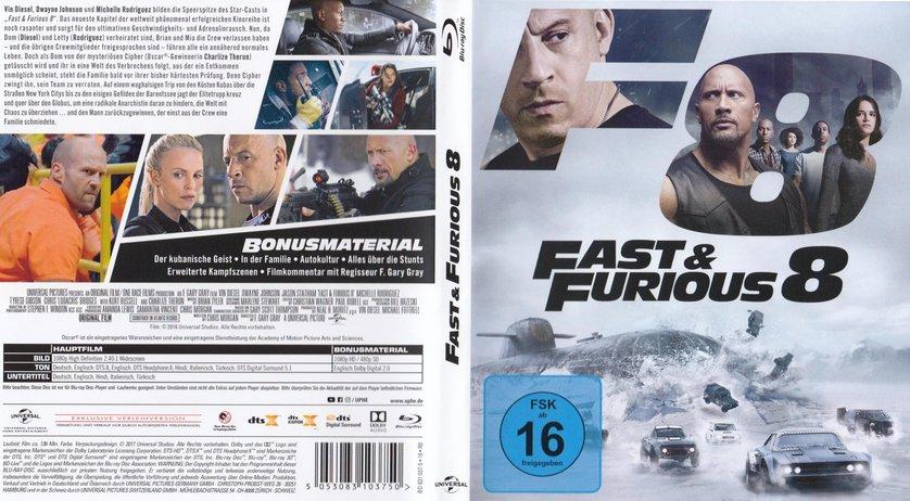 Fast Furious 8 Dvd Oder Blu Ray Leihen Videobusterde