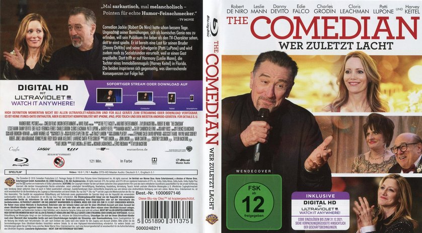 The Comedian Dvd Blu Ray Oder Vod Leihen Videobusterde