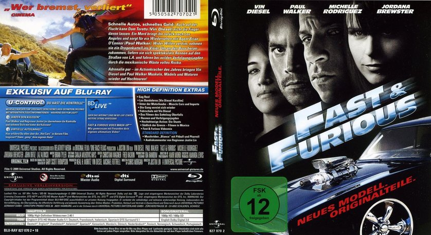 fast furious 4 dvd oder blu ray leihen. Black Bedroom Furniture Sets. Home Design Ideas