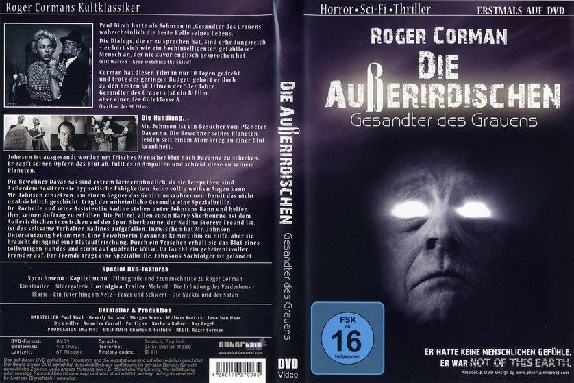 Die Außerirdischen  Gesandter des Grauens DVD oder Blu