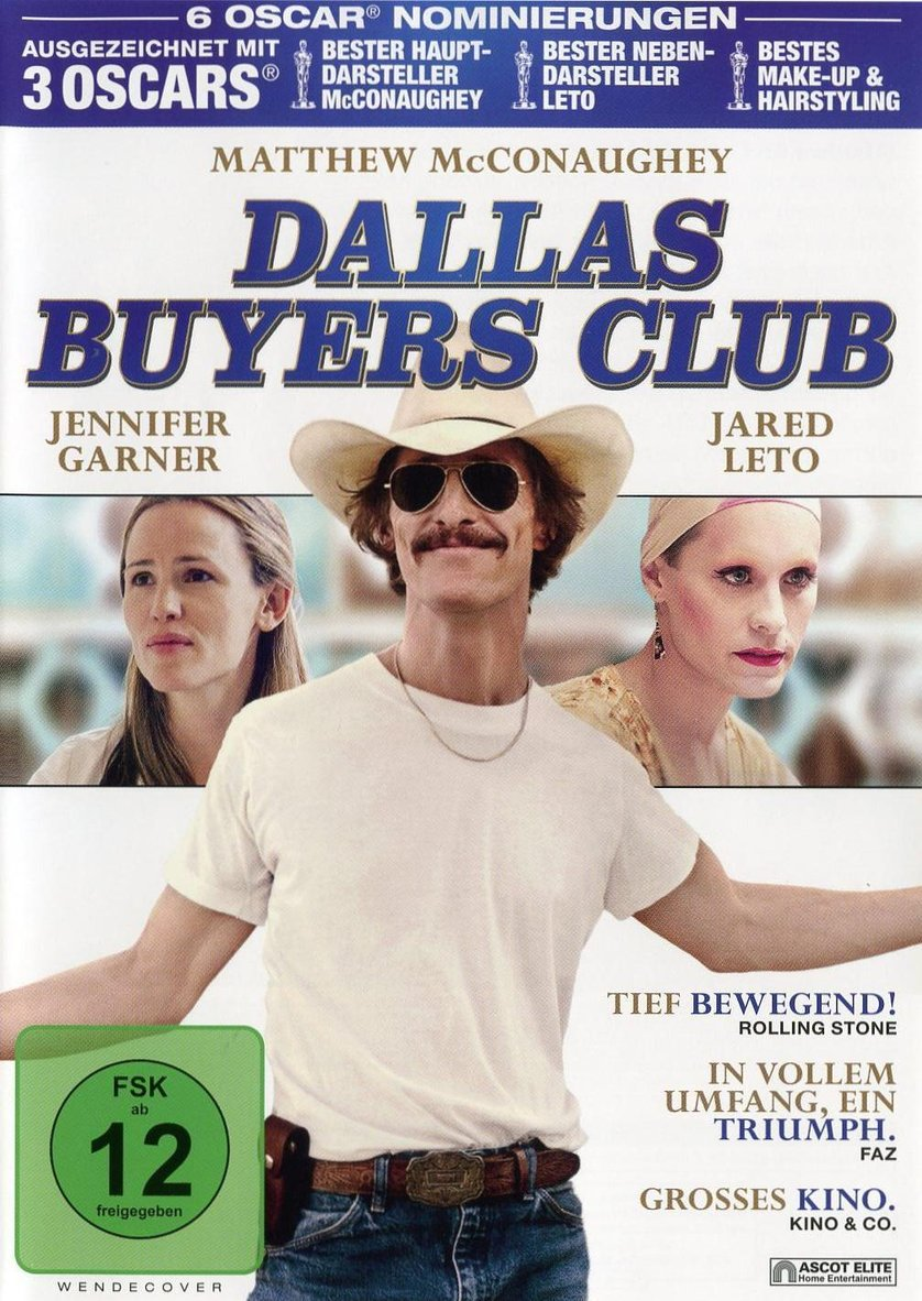 Dallas Buyers Club: DVD, Blu-ray oder VoD leihen - VIDEOBUSTER.de