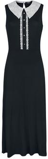 Banned Alternative Haunted Doll Dress Langes Kleid schwarz weiß powered by EMP (Langes Kleid)