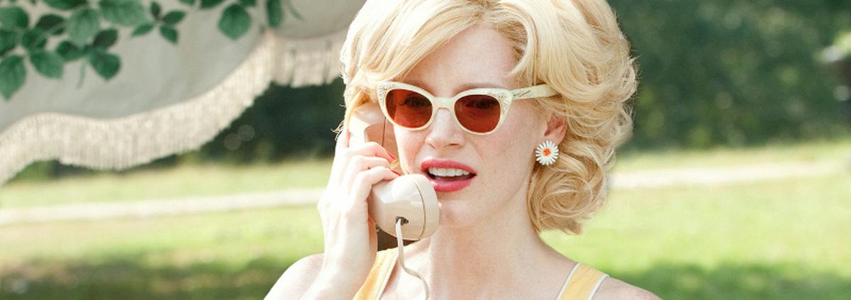 Jessica Chastain: Jessica Chastain spielt Marilyn Monroe