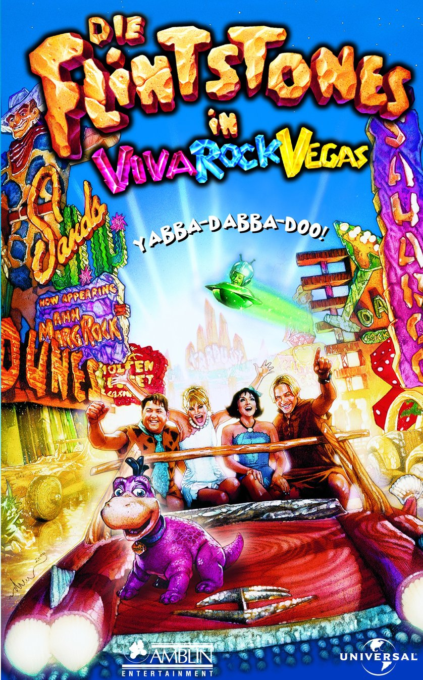 Flintstones In Viva Rock Vegas: DVD