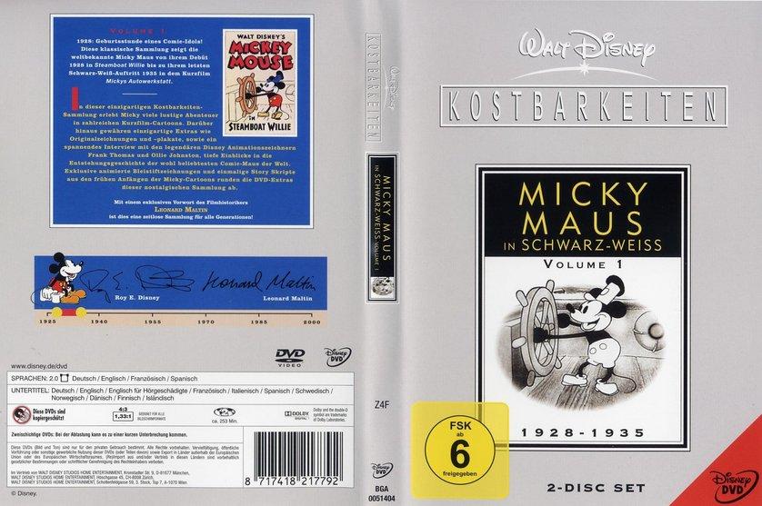 walt disney kostbarkeiten micky maus in schwarz wei dvd oder blu ray leihen. Black Bedroom Furniture Sets. Home Design Ideas