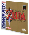 The Legend Of Zelda Game Boy Cover powered by EMP (Wooden Wall Art)