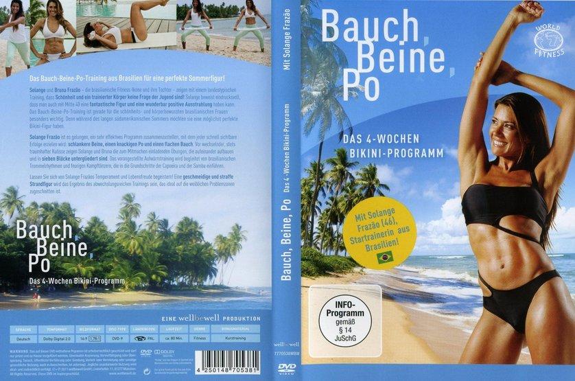 bauch beine po das 4 wochen bikini programm dvd oder blu ray leihen. Black Bedroom Furniture Sets. Home Design Ideas