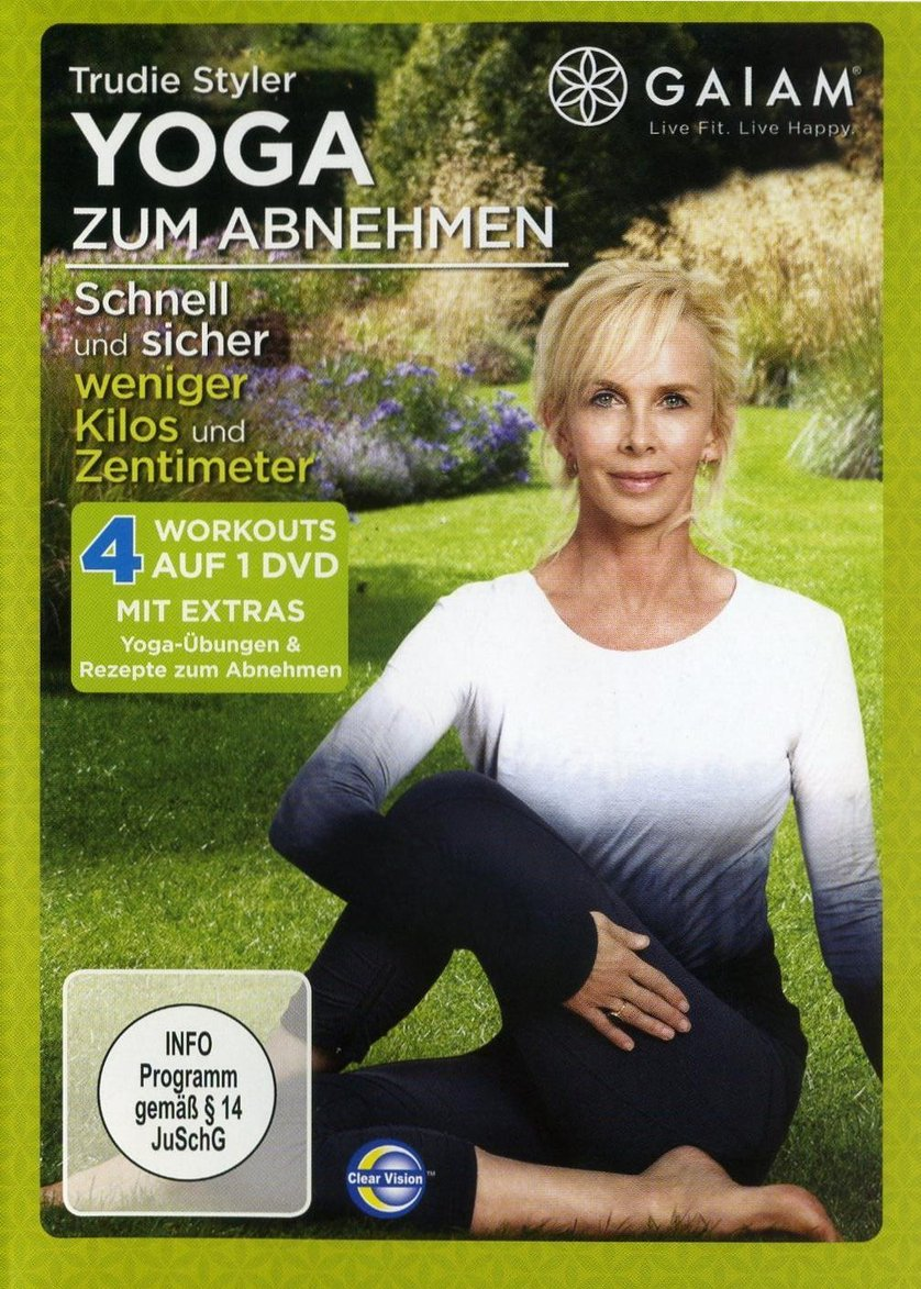 trudie styler yoga zum abnehmen dvd oder blu ray leihen. Black Bedroom Furniture Sets. Home Design Ideas